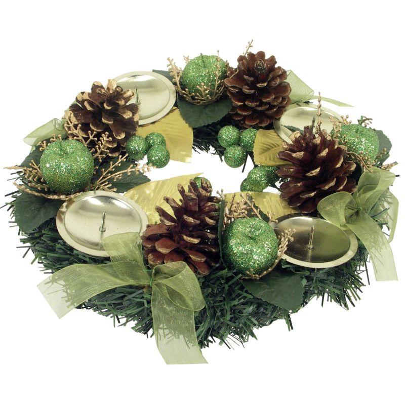 b369d829b trioart.sk | Veniec adventný×4 (Vianočné dekorácie, Adventné ...